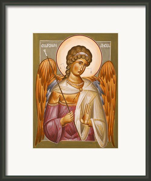 Guardian Angel Framed Print By Julia Bridget Hayes