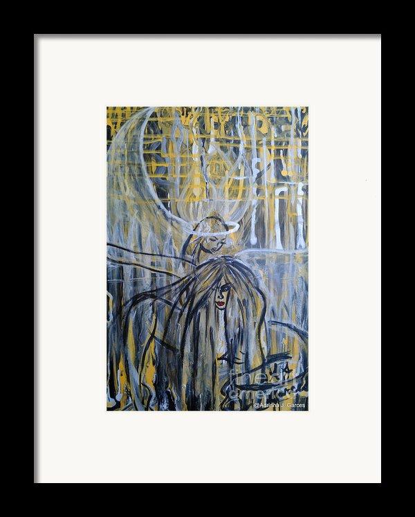 Guardian Whisper Framed Print By Adriana Garces