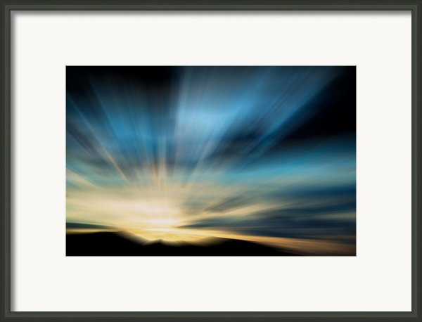 Guiding Light  Framed Print By Kevin Bone
