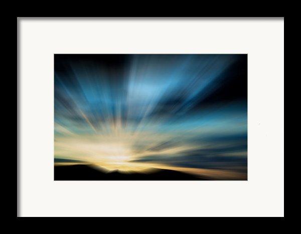 Guiding Light  Framed Print By Kevin Bone