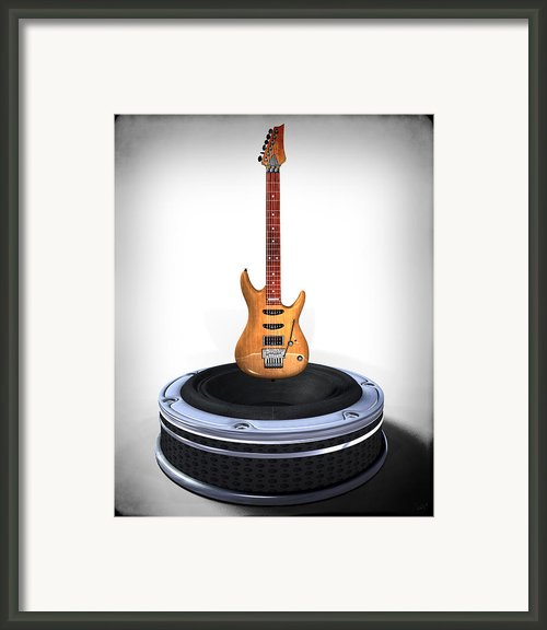 Guitar Desplay V1 Framed Print By Frederico Borges