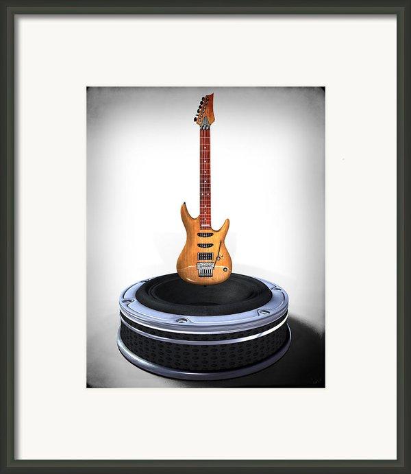 Guitar Desplay V1 Framed Print By Frederico Borges