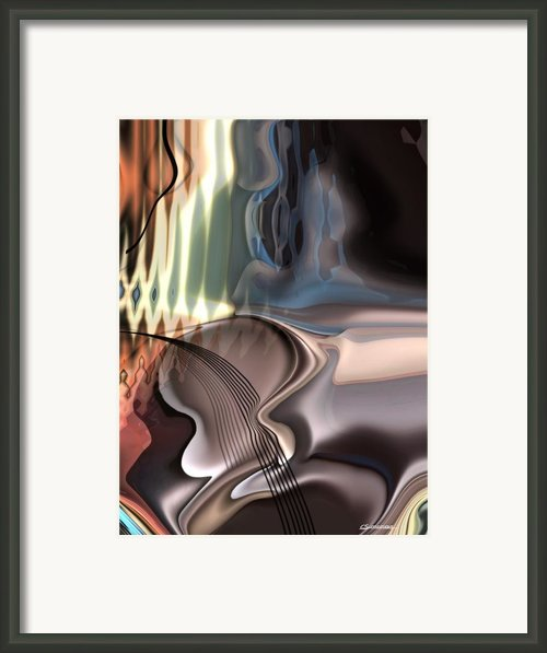 Guitar Sound Framed Print By Christian Simonian