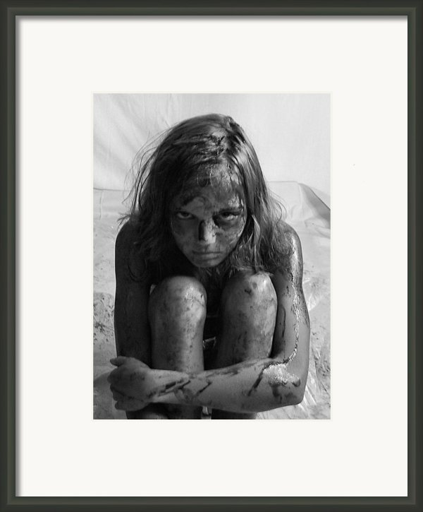 Gulf Oil Spill Of 2010 Awareness Project- Amy Ii Framed Print By Julie Dant