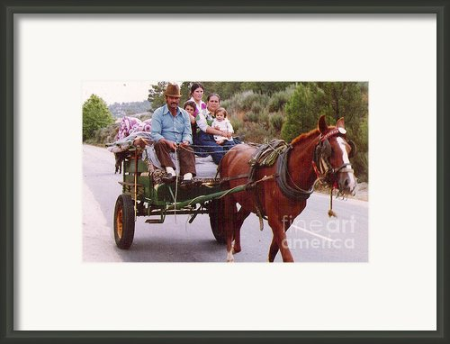 Gypsy Framed Print By Graham Foulkes