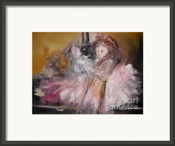 Hail Framed Print By Laurie D Lundquist