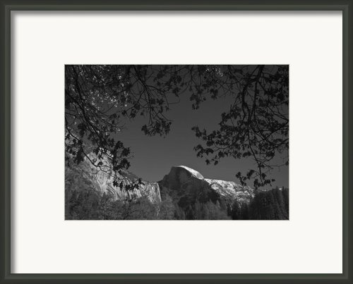 Half Dome Full Glory - Landscape Photos Framed Print By Laria Saunders