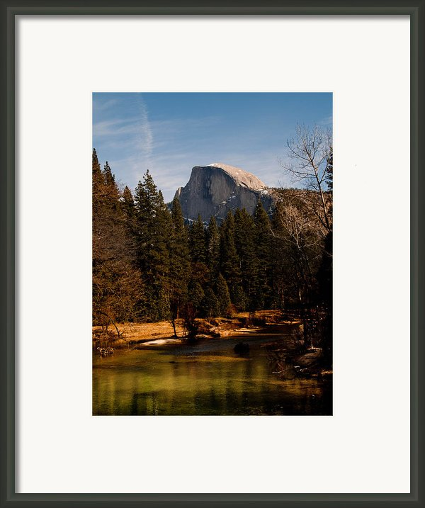 Half Dome Spring Framed Print By Bill Gallagher