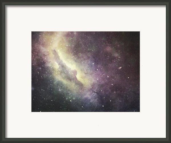Halley 2 Framed Print By Cynthia Lassiter
