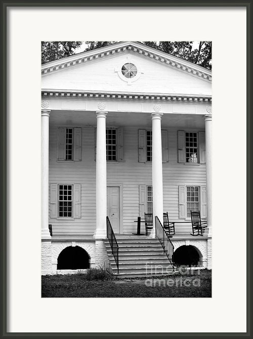 Hampton Plantation Framed Print By John Rizzuto