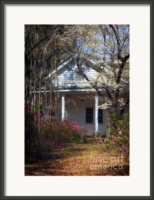 Hampton Slave Quarters Framed Print By John Rizzuto