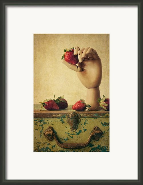 Hand Picked Framed Print By Amy Weiss