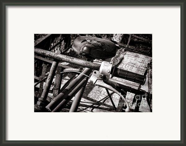Handlebar Framed Print By Olivier Le Queinec
