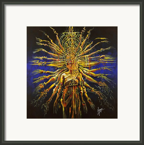 Hands Of Compassion Framed Print By Karina Llergo Salto
