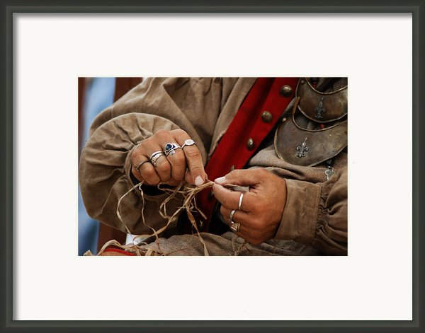 Hands Framed Print By Off The Beaten Path Photography - Andrew Alexander