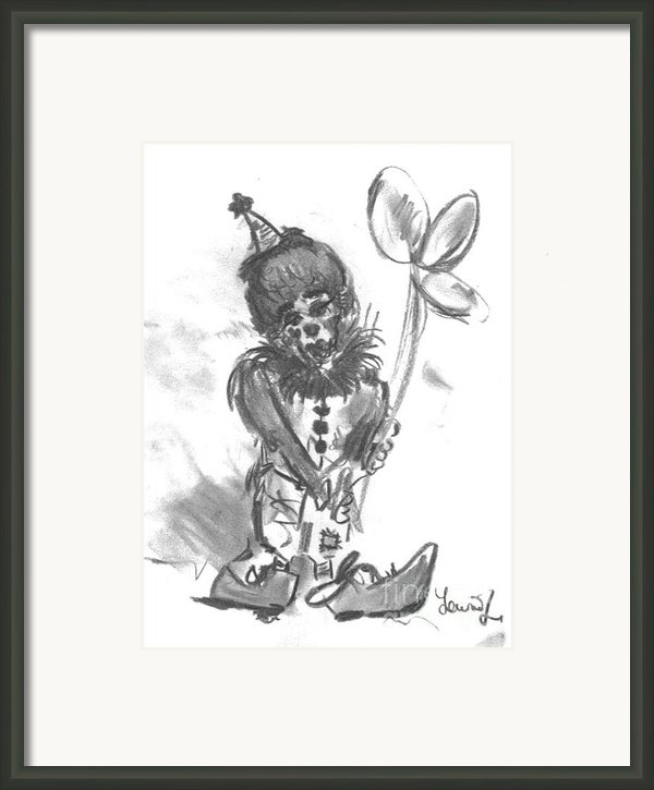 Happy Birthday Framed Print By Laurie D Lundquist