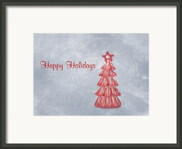 Happy Holidays Framed Print By Kim Hojnacki