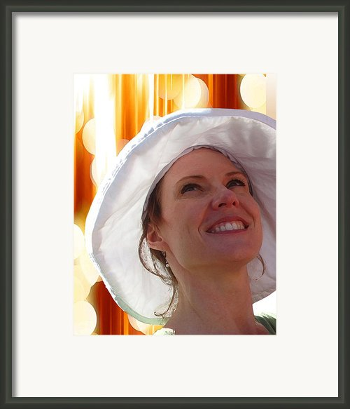 Happy In The Light Framed Print By Ellen Henneke