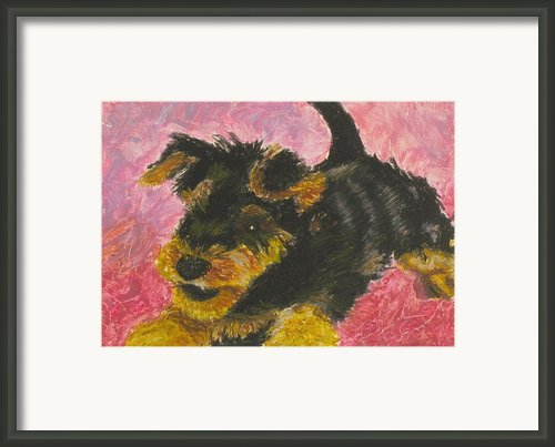 Happy Framed Print By Jeanne Fischer