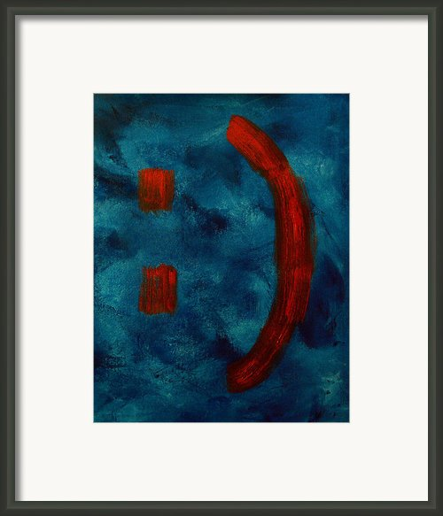 Happy To Be Here  Framed Print By Shawn Marlow