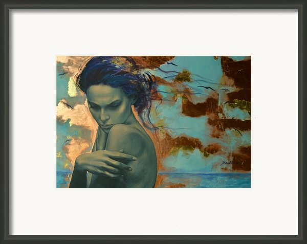 Harboring Dreams Framed Print By Dorina  Costras