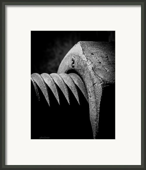 Hard 2 Framed Print By Steven Milner