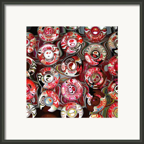 Hard Candies Framed Print By Wendy J St Christopher