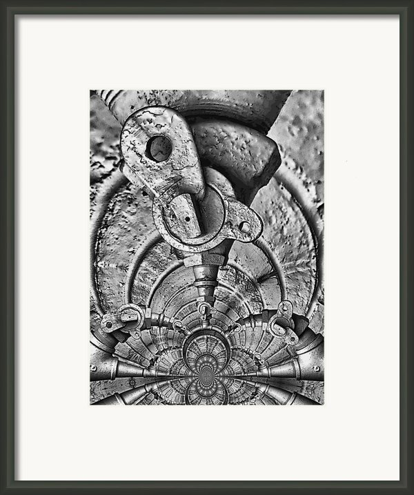 Hardware Symphonette Framed Print By Wendy J St Christopher