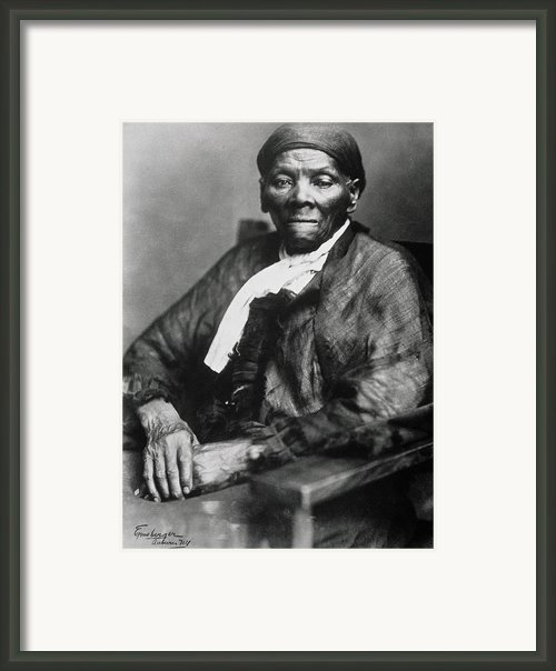 Harriet Tubman  Framed Print By American School