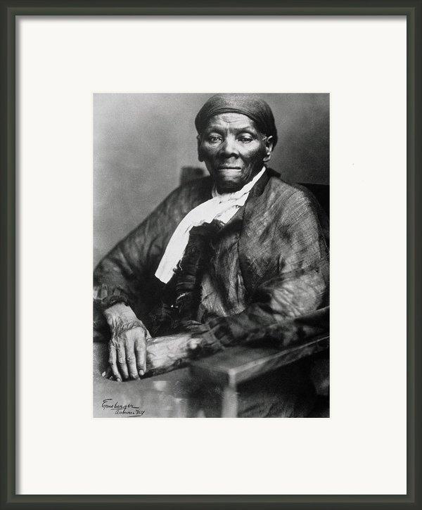Harriet Tubman  Framed Print By American School