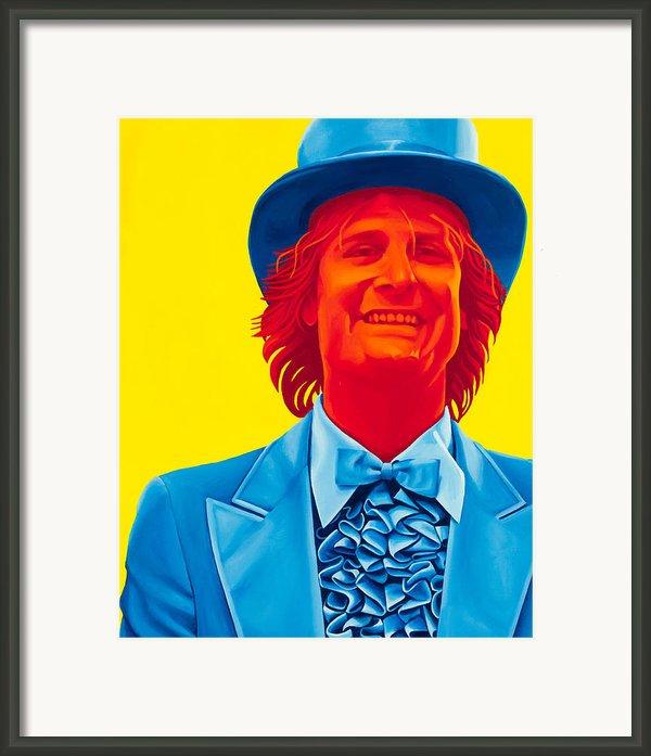Harry Dunne Framed Print By Ellen Patton