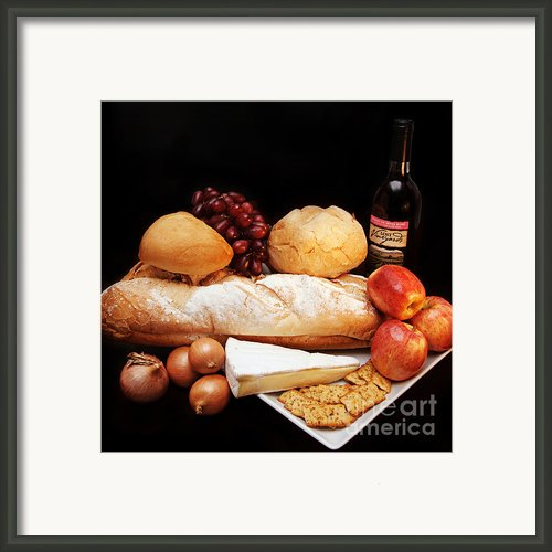 Harvest Bounty Square Framed Print By Andee Photography