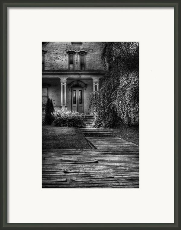 Haunted - Haunted Ii Framed Print By Mike Savad