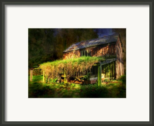 Haunted House Framed Print By Svetlana Sewell