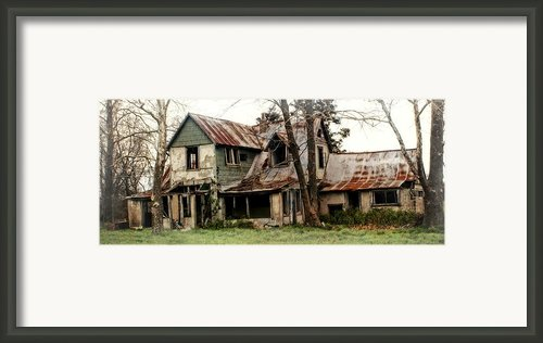 Haunted Framed Print By Marty Koch