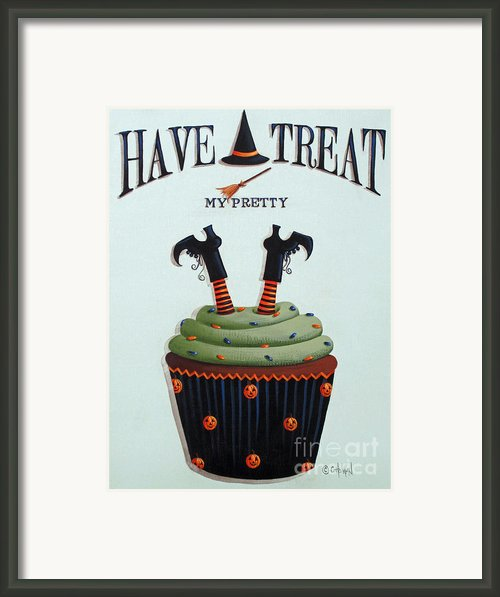 Have A Treat My Pretty Framed Print By Catherine Holman