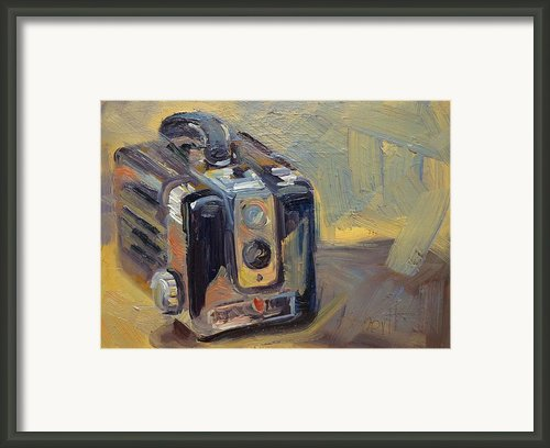 Hawkeye Framed Print By Donna Shortt