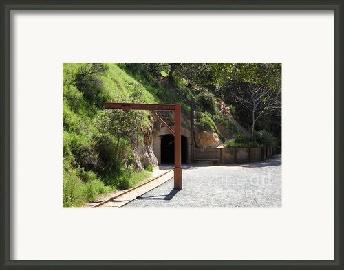 Hazel Atlas Mine At The Black Diamond Mines Regional Preserve 5d22307 Framed Print By Wingsdomain Art And Photography