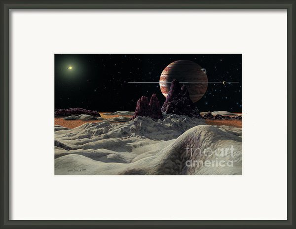 Hd 168443 System Framed Print By Lynette Cook