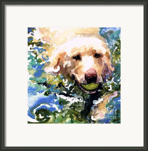 Head Above Water Framed Print By Molly Poole