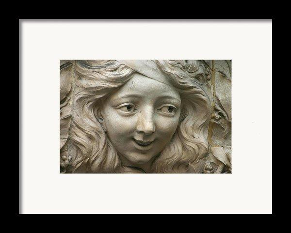 Head Of Polina Framed Print By A Morddel