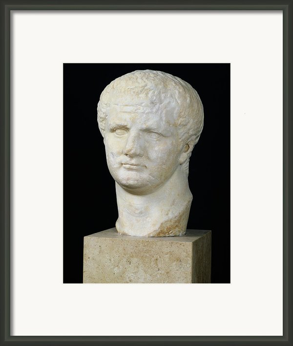 Head Of Titus Framed Print By Anonymous