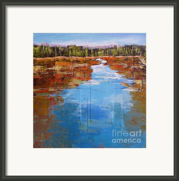 Heading West No. 5 Framed Print By Melody Cleary