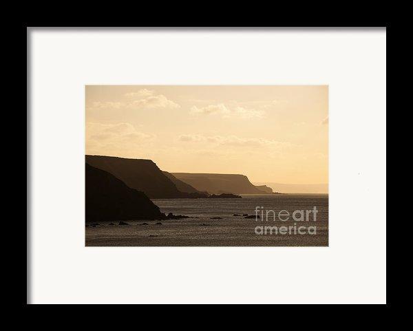 Headland Framed Print By Anne Gilbert