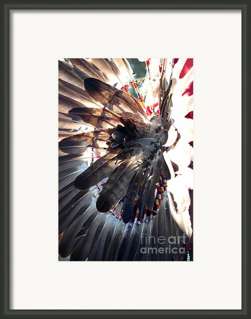 Headress Framed Print By Kathleen Struckle