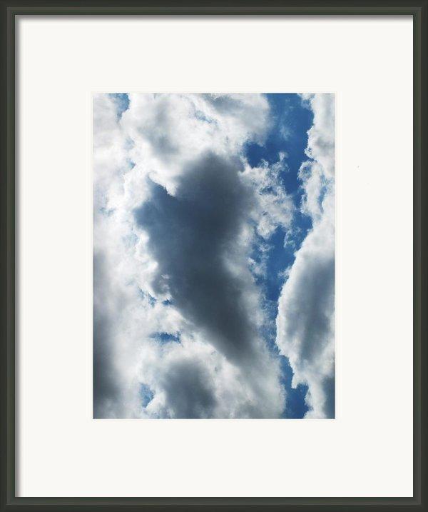 Heart I Framed Print By Anna Villarreal Garbis