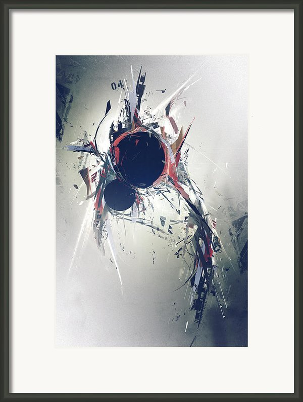 Heartbeat Framed Print By George Smith
