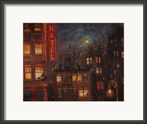 Heartbreak Hotel Framed Print By Tom Shropshire