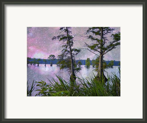 Heavenly Sunrise Framed Print By J Larry Walker