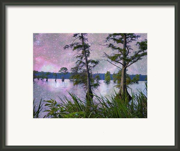 Heavenly Sunrise Framed Print By J Larry Walker
